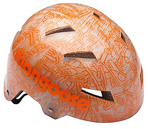 Mongoose Translucent Hardshell Youth Helmet