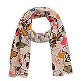 CODELLO Flauschiger Schal mit Peanuts Snoopy