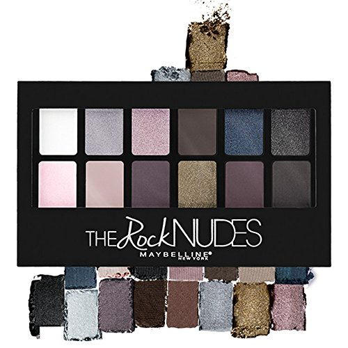 Maybelline New York The Rock Nudes Palette, Multicolor, 9g