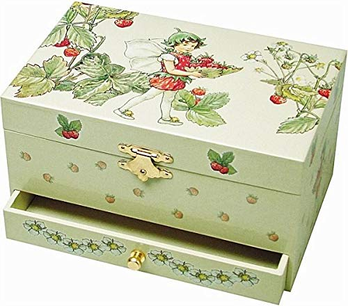 Trousselier 60615 - Spieluhr TR Schublade XL Strawberry (Spieldosen, Musikdosen, Spieluhren) -