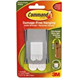 Command Wire Backed Sticky Nail and Stabiliser Strips - Silver