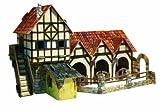Umbum 26428x 14x 11,5cm Clever Papier Mittelalter Town stabile 3D Puzzle