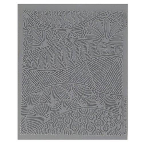 Texturplatte Helen Breil für Modellierung und Polymermasse 10.5x13 cm Conga Line
