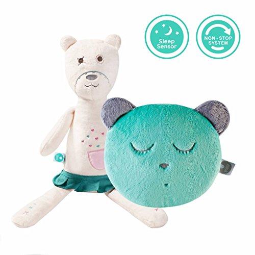 myHummy Doudou-mascotte Aide à l'endormissement avec capteur de sommeil Avec petite tête