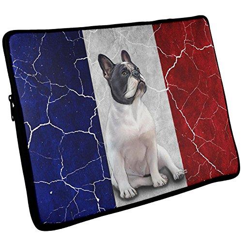 17 ärmel Computer Zoll (Französisch Bulldog Live Forever Flag Laptop Ärmel 17 Zoll Multi Standard One Größe)