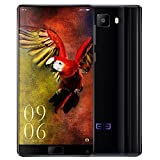 Elephone S8 4G Phablet Android 7.1 6.0 inch 2K Screen Helio X25 Deca Core 2.5GHz 4GB RAM 64GB ROM 21.0MP Rear Camera Front Fingerprint Scanner,BLACK