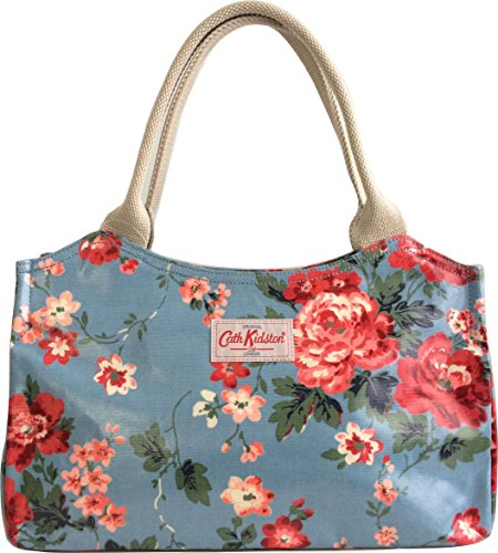 cath kidston damen satchel tasche blau blau taschenneid. Black Bedroom Furniture Sets. Home Design Ideas