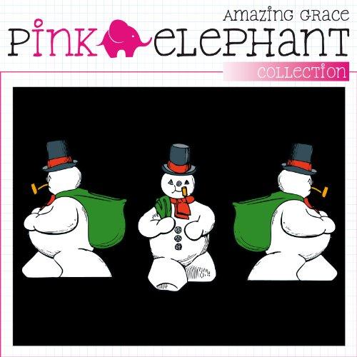T-Shirt Weihnachten 02 - Herren - unisex - Schneemann - Snowman Schwarz