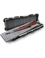SKB Reisekoffer ATA Transport für Zwei lange 50 Zoll Gewehre - Funda rígida para rifles de caza, color negro, talla 127.0 x 24.1 x 15.2 cm