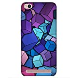 For Xiaomi Redmi 5A Cubes Art ( Cubes Art, Cube Background, Cube Art ) Printed Designer Back Case Cover By King Case