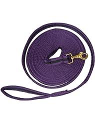 JUMPTEC - Longe de travail matelassée - violet/noir - Longueur 8 m 50 env.