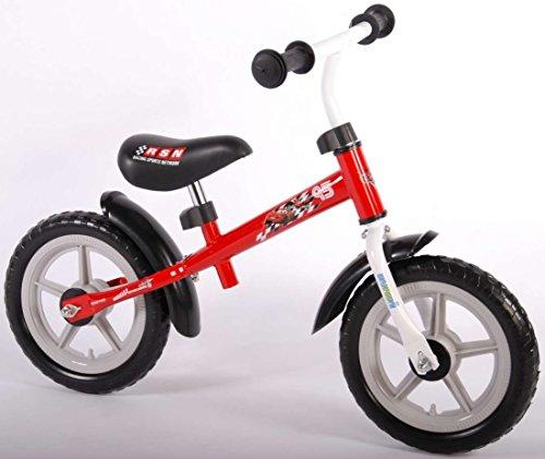 Laufrad Cars 12 Zoll Pixar Kinder rot schwarz Luftbereifung Lightning McQueen Jungen Disney