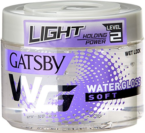 Gatsby Water Gloss Soft, White, 300g