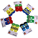 PetSutra Anti-Slip Dog Socks Breathable Boots with Rubber Reinforcement (Multiple Design and Color, Medium)