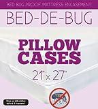 bed-de-bug Bettwanzen Proof Matratze umgreifung, Polyester-Mischgewebe, weiß, Kissenbezug