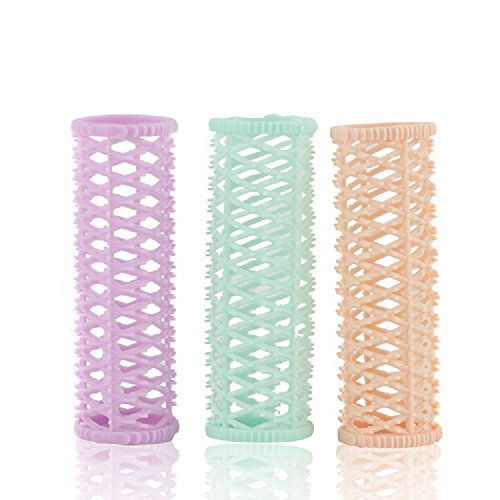 xjoel-3pcs-random-color-hair-setting-rollers-multifunctional-plastic-curls