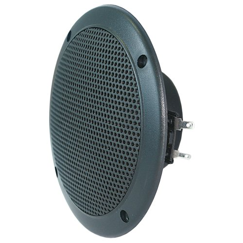 Visaton FR 10 WP Lautsprecher Treiber 30 Watt, Schwarz, Ø 132 mm, 4 Ohm (- Treiber-treiber)