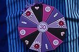 Tolle Torte 42 Geldgeschenkverpackung aus Papier zum 30. Geburtstag, Geld verschenken, Geschenkverpackung