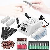 HG Professionnelle Ponceuse pour ongles Ponceuse Électrique portable manucure machine ongles electrique Kit Complet Ponceuse Électrique