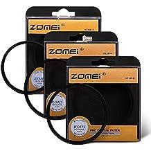 Filtro de camara fotográfica marca Zomei, 67mm, filtro de efecto de centelleo ligero (4 puntos + 6 puntos + 8 puntos) para cámaras Nikon, Pentax, Olympus, Samsung y Sony