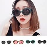 Clearance Sale!OverDose Men Womens Retro Vintage Round Frame UV Glasses Sunglasses(#3)