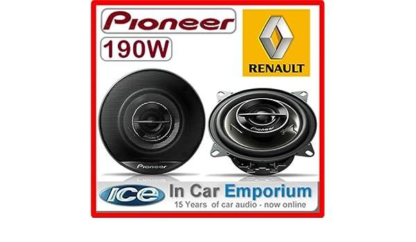 BMW 3/SERIE E36/hinten Seite Regal Lautsprecher Pioneer 10,2/cm 10/cm Auto-Lautsprecher-Set 190/W
