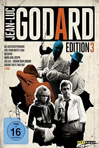 Jean-Luc Godard Edition 3 [5 DVDs]