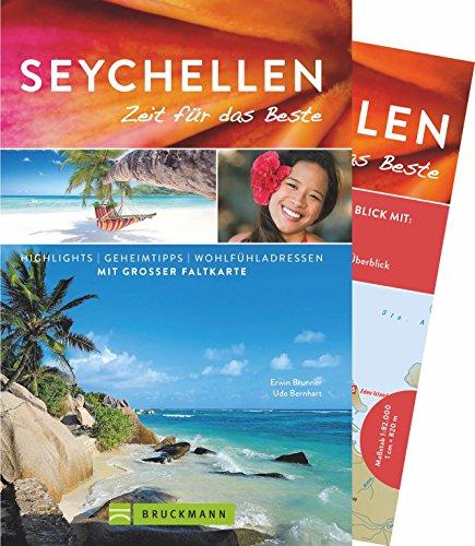 Seychellen Reiseführer 2018 - Zeit für das Beste: Highlights und Geheimtipps für die Inseln, mit Hotspots zum Segeln und Tauchen zwischen Fischen und praktischer Karte zum Herausnehmen. Indischer Ozean Tauchen