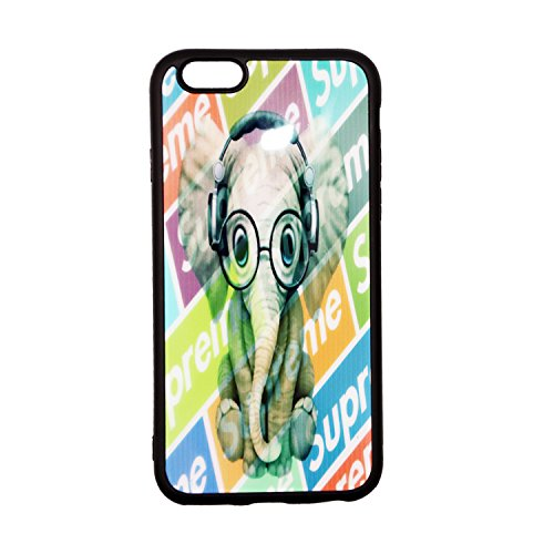 iPhone 6 Hülle iPhone 6s Hülle Mädchen Elefant iPhone 6/6s Fall Frauen Schutzhülle Süße klare Slim Fit Heavy Duty Stoßfest Glänzend TPU Soft Rubber Silikon Cover Phone Case iPhone 6S/6 - Für Frauen Fall 4 Niedlich Iphone