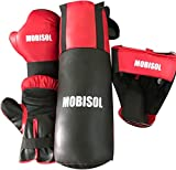 #3: Kids Boxing Set /Bag (1 Punching Bag, 1 Pair Of Boxing Gloves, 1 Protective Headgear) Ideal for 3 year old, 4 year old ,5 year and 6 year old only, Premium quality PVC material