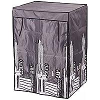Modulhome 6RAN635GR Loft Armoire avec Housse Polyester Noir 60 x 45 x 85 cm