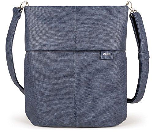 Zwei Mademoiselle M12 Handtasche, Canvas-blue (Blau),  -