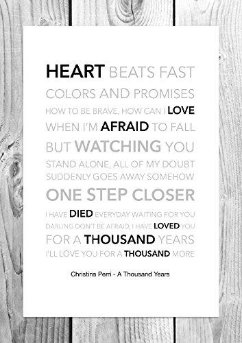Christina Perri–Ein Tausend Jahren–Funky Lyric - Jahre Song Tausend
