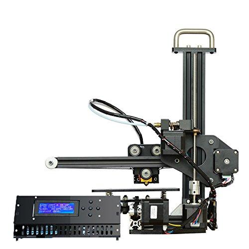 Entièrement en aluminium Mini kit DIY imprimante 3d MK8 extrudeuse Buse LCD 2004 une coque Boîte Vitesse 20–150 mm/S School Education formation imprimante 3d