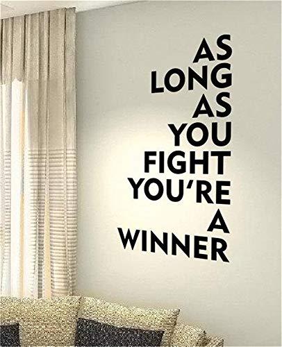 terlinge 3d Solange Sie kämpfen, sind Sie ein Gewinner ()