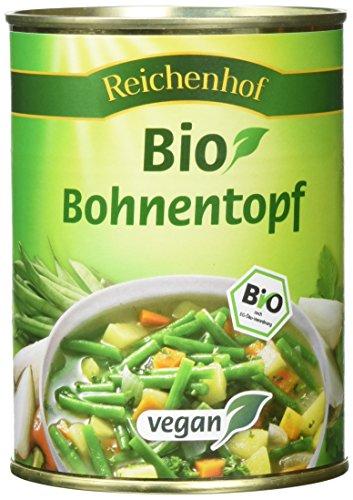 Reichenhof Bohnentopf vegan, 6er Pack (6 x 550 g) - Bio
