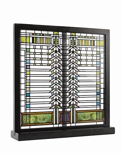 Frank Lloyd Wright Martin Fenster gebeizt Glas 31.75 cm x 30.48 cm