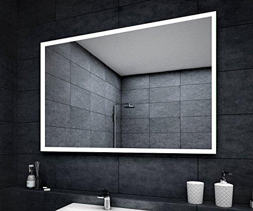 Design Badspiegel mit LED Beleuchtung Wandspiegel ...