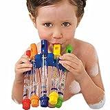 Omiky® Kinder Bad Dusche Badewanne Wasserflöte Whistles Musik Spielzeug