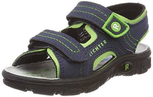 Richter Kinderschuhe Jungen Adventure Outdoor Sandalen, Blau (Atlantic/Apple), 40 EU