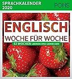 PONS Sprachkalender 2020 Englisch Woche für Woche: 53 Wochen Lernen und Geniessen