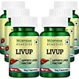 Morpheme Remedies Livup 500mg Extract Supplements (60 Capsules) - Pack Of 6