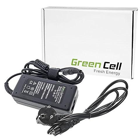 Green Cell® Netzteil / Ladegerät inkl. Stromkabel für Notebook /