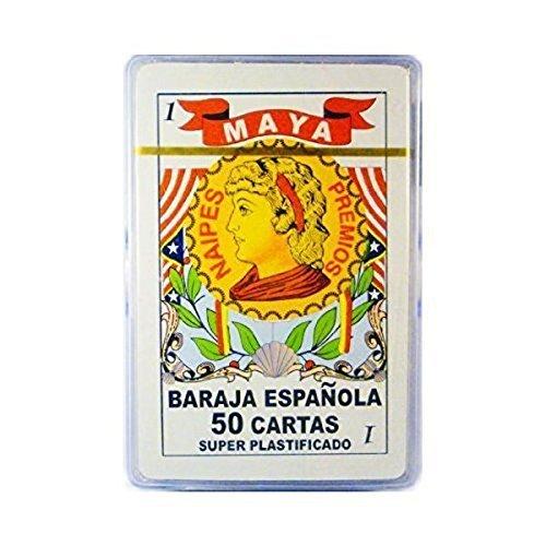 Barajas Espanolas en caja Plastica, espagnol, cartes à jouer, étui e