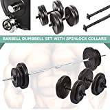 Best Barbell Sets - 60kg Barbell Dumbbell Set - Weight Training Review
