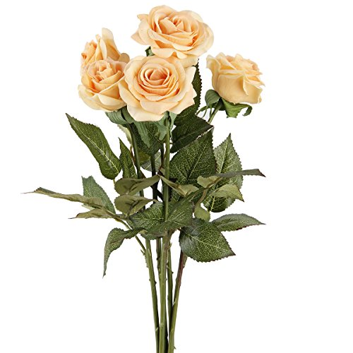 tininna-5-pezzi-rose-artificiali-rose-mazzi-per-la-festa-decorazioni-domestiche-o-wedding-giallo