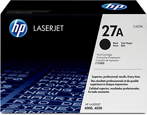 HP 27A Schwarz Original LaserJet Tonerkartusche