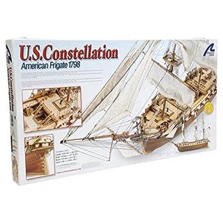 Artesania Latina 22850 - 1/85 US Constellation, Wasserfahrzeuge