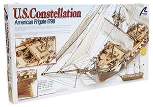 Maquette en bois - US Constellation