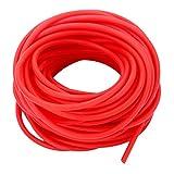 Tubo elastico rosso, in lattice naturale, ricambio per caccia, fionda, catapulta, 1632, 10 m